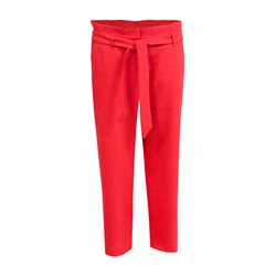 Betty & Co Cropped Trouser Red