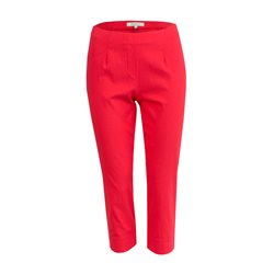 Sandwich 3/4 Length Stretch Trousers Red