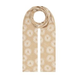 Masai Along Floral Scarf Beige