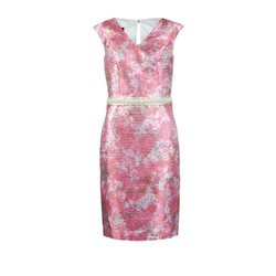 Linea Raffaelli Floral Dress Pink