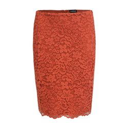 Taifun Lace Skirt Rust