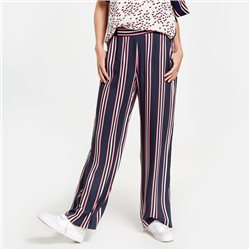 Gerry Weber Wide Strip Trousers Navy