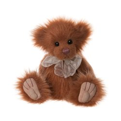 Charlie Bears Butterscotch Plush Collection Orange