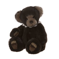Charlie Bears Woodend Plush Collection Brown