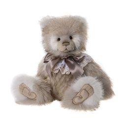 Charlie Bears Jean Plush Collection Cream