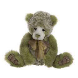 Charlie Bears Bamse Plush Collection Green