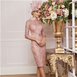 Ronald Joyce 991465 Dress Pink