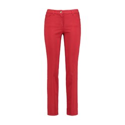 Gerry Weber Five-Pocket Jeans Straight Fit Romy Red