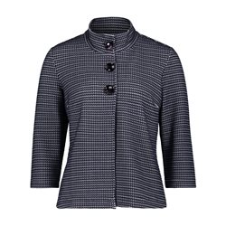 Betty Barclay Button Knitted Jacket Navy