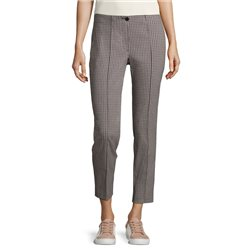 Betty Barclay Checked Trousers Navy