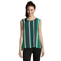 Betty Barclay Colourful Stripe Top Navy