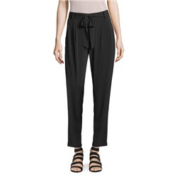 Betty & Co Belted Jersey Trousers Black