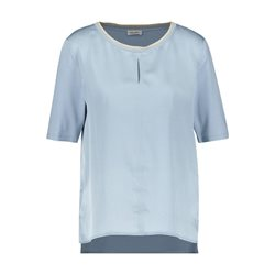 Gerry Weber 3/4 Sleeve Viscose Font Top Blue