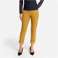 Gerry Weber 7/8 Trouser With 5 Pocket Design Yellow
