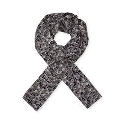 Masai Patterned Scarf Navy