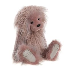 Charlie Bears Eleanor Plush Collection Pink