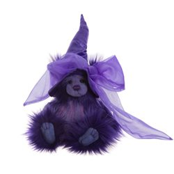 Charlie Bears Potions Plush Collection Purple
