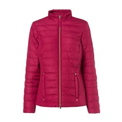 Olsen Quilted Jacket Red
