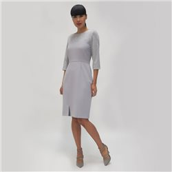 Fee G Dress With Glitter Bodice Grey