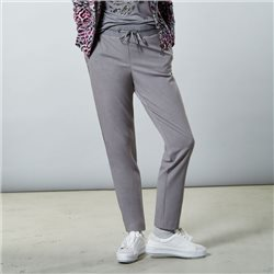Lebek Trouser With Luxer Detail Grey