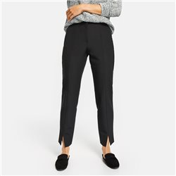 Gerry Weber 7/8 Trousers With Front Slit Black
