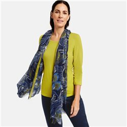 Gerry Weber Fashionable Pattern Scarf Blue