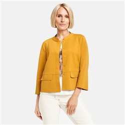 Gerry Weber Slightly Flared Short Blazer Saffron