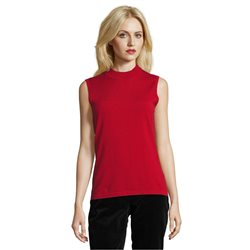 Betty Barclay Sleeveless Top Red