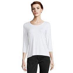 Betty Barclay Plain T Shirt Top White