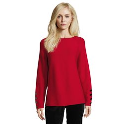 Betty Barclay Fine Ribbed Jumper Red