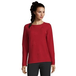 Betty Barclay Star Jumper Red