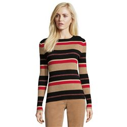 Betty Barclay Striped Jumper Red