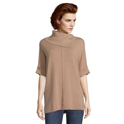 Betty Barclay Long Fine Knit Jumper Caramel
