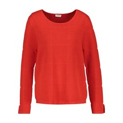 Gerry Weber Ribbed Texture Jumper Red