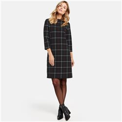 Gerry Weber Check Dress Black
