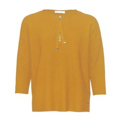 Monari Zip Detail Jumper Orange
