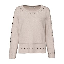 Monari Jumper With Stud Detail Beige