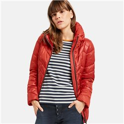 Taifun Shinny Quilted Jacket Rust