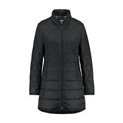 Gerry Weber Padded Coat With Diamond Stitching Black