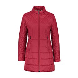 Gerry Weber Padded Coat With Diamond Stitching Red