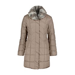 Betty Barclay Quilted Coat Brown