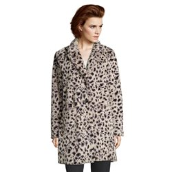 Betty Barclay Animal Print Coat Brown