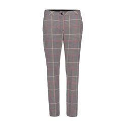 Betty Barclay Check Trousers Black