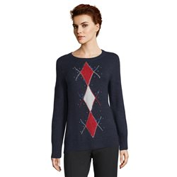 Betty Barclay Embellished Jumper Navy
