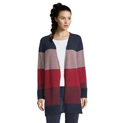 Betty Barclay Striped Cardigan Navy