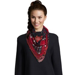 Betty Barclay Floral Print Scarf Navy