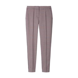 Sandwich Elba Houndstooth Check Trouser Red