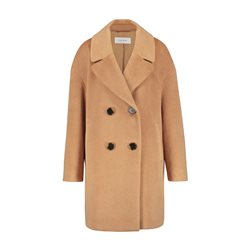 Gerry Weber Double Breasted Coat Camel