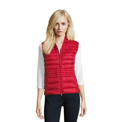 Betty Barclay Down Gilet Red