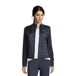 Betty Barclay Quilted Cardigan Navy